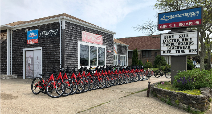 Cape Cod Canal Bike Rental Center - Sailworld Cape Cod